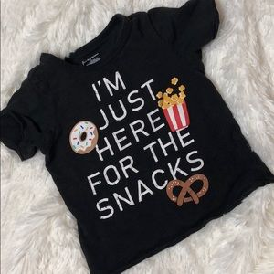 First Impressions Shirts & Tops - FIRST IMPRESSIONS Gray Graphic T-Shirt Size 3T